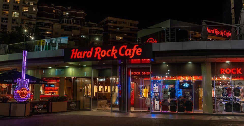 Menú para grupos de estudiante Hard Rock Cafe Málaga