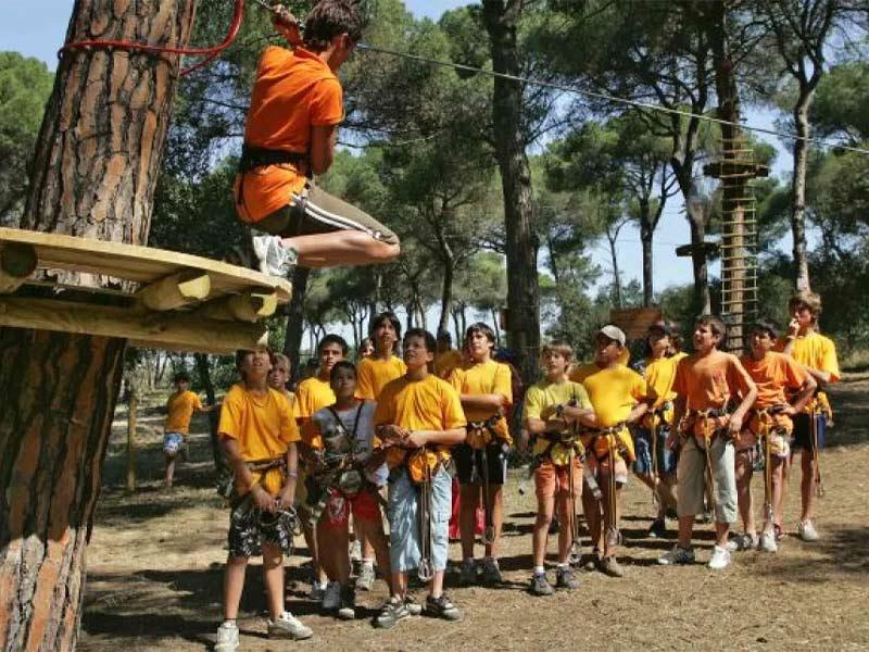 Ven con tu clase a Natupark ubicado en el Bosc Tancat - Barcelona