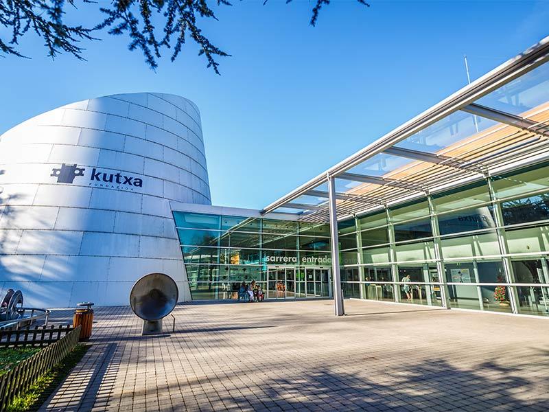Museo de la ciencia Eureka! especialista en visitas escolares - Gipuzkoa